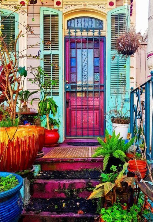 bohemian exterior house